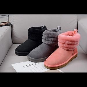 Ugg quilted boots